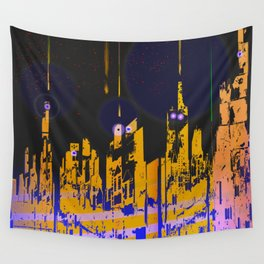 The Influencers Urban Totems Wall Tapestry