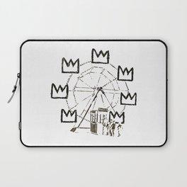 Ferris Wheel, Banksy Pays Tribute To Jean-Michel Basquiat, Artwork, Tshirts, Posters, Bags, Prints, Laptop Sleeve