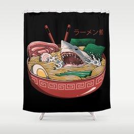 Ramen Shark Shower Curtain