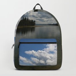 Yellowstone Lake View Backpack