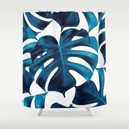 Tropical Monstera Leaves Dream #8 #tropical #decor #art #society6 Shower Curtain