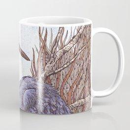 White Faced Heron Coffee Mug