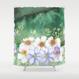 Flowers bouquet 73 Shower Curtain