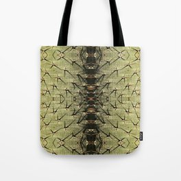 Cactus trunk with large prickles Tote Bag