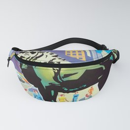 Chicago - 1960s Vintage travel poster Fanny Pack