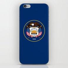 Utah State Flag - Authentic Version iPhone & iPod Skin