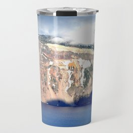 MOUNTAINS AROUND CRATER LAKE - OREGON Travel Mug