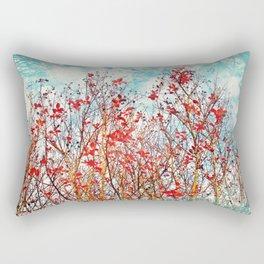 I Scratch the Sky Rectangular Pillow