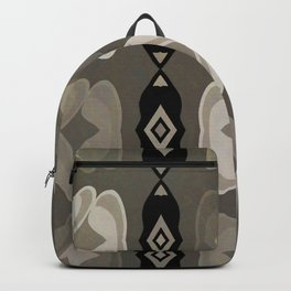 Hearts and Diamonds Pattern Backpack