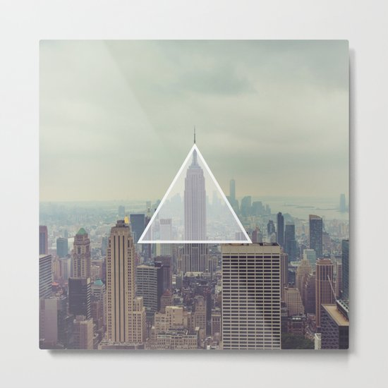 New York Triangle Metal Print