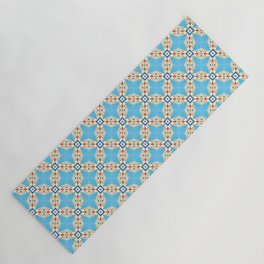 Mana #pattern #seamless Yoga Mat