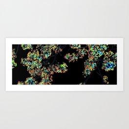 Mismatch Color Hatch Art Print