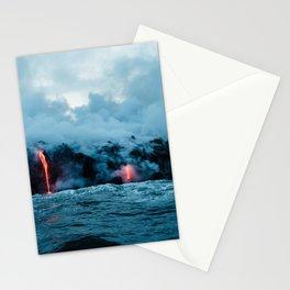 Vulcano ocean Stationery Cards
