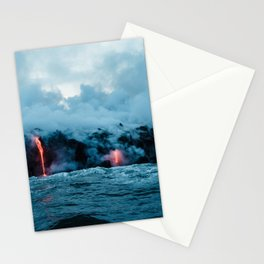 Vulcano ocean Stationery Cards