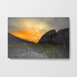 Arctic night Metal Print