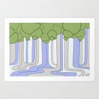 Landscape 4 Art Print