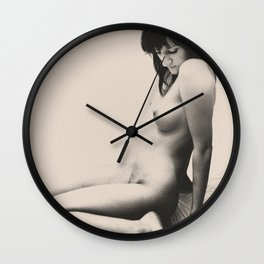 Issues of the day - Naked Photo Art 2009 from Germany Wall Clock