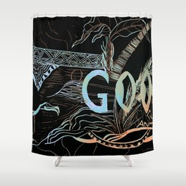 Gooey Shower Curtain
