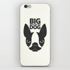 Big Mostacho Dog iPhone & iPod Skin