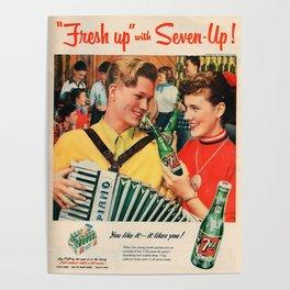Vintage poster - Soda Advertisement Poster