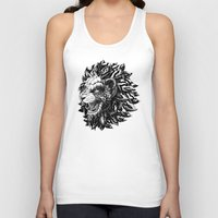 lion Tank Tops featuring Lion by BIOWORKZ