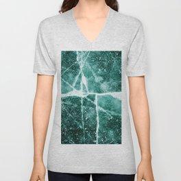 Emerald Ice Unisex V-Neck
