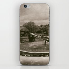 Boat Dock Black Country Living Museum iPhone Skin