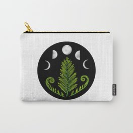 Moonlit Fern Carry-All Pouch