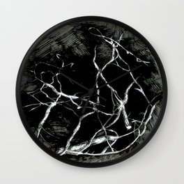 Misterious Branches Wall Clock
