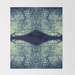 Cracks Throw Blanket