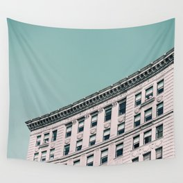 Vintage Blues Wall Tapestry