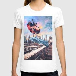 dancing in the bridge T-shirt