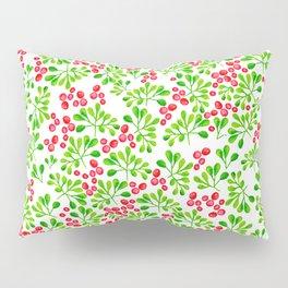 Christmas Holly Berries Pillow Sham