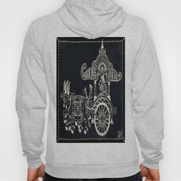 'The Chariot' Wood Work Hoody