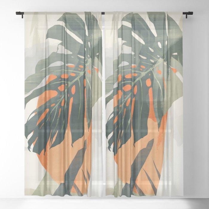Jungle 3 Sheer Curtain