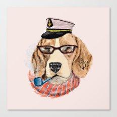 Mr.Beagle Canvas Print