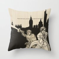 heroes Throw Pillows featuring Heroes by salternates