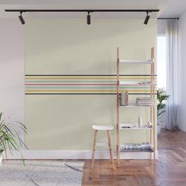 Classic Fine Retro Stripes Wall Mural