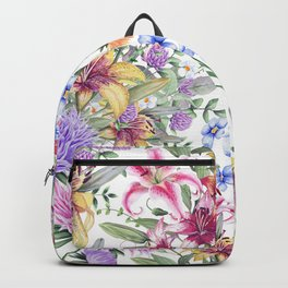 FLORAL WATERCOLOR 10 Backpack