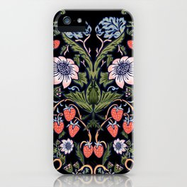 Strawberry Tapestry iPhone Case