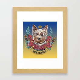 The Yorkie 1 Framed Art Print