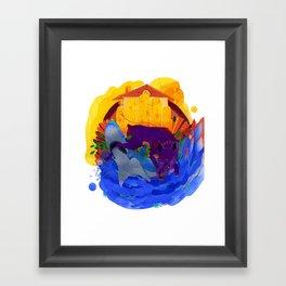 Friend & Foe Framed Art Print