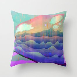 Sea of Clouds for Dreamers Throw Pillow