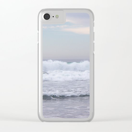 ocean mood Clear iPhone Case