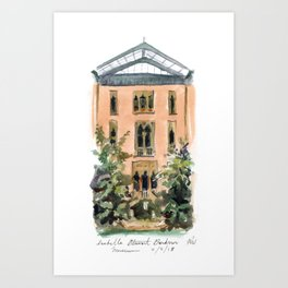 Isabella Stewart Gardner Museum Art Print