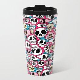 Skullz Metal Travel Mug