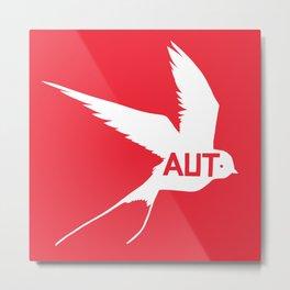 National Bird of Austria Metal Print