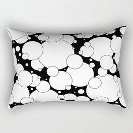 Black and White Pop 2 Rectangular Pillow