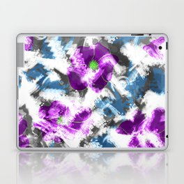 """""""Watercolor glamour """". Lilac - blue. Laptop & iPad Skin"""