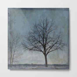 Winter Sentinel Metal Print